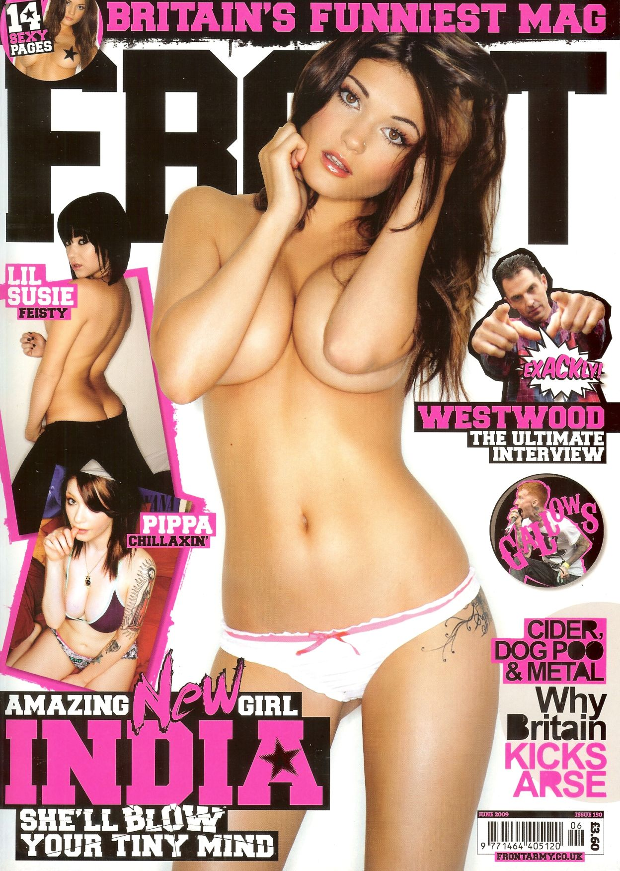 India Reynolds | Front Magazine June 2009 HQ Scans | In ...