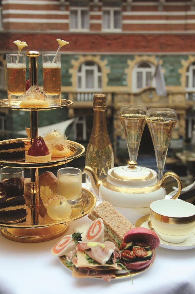24 Karat Gold Afternoon Tea 2 sm