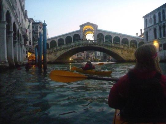 kayak Venice