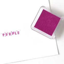 Purple Square Ink Pad