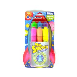 Mr. Sketch Neon Intergalactic Scented Markers (6-piece set)