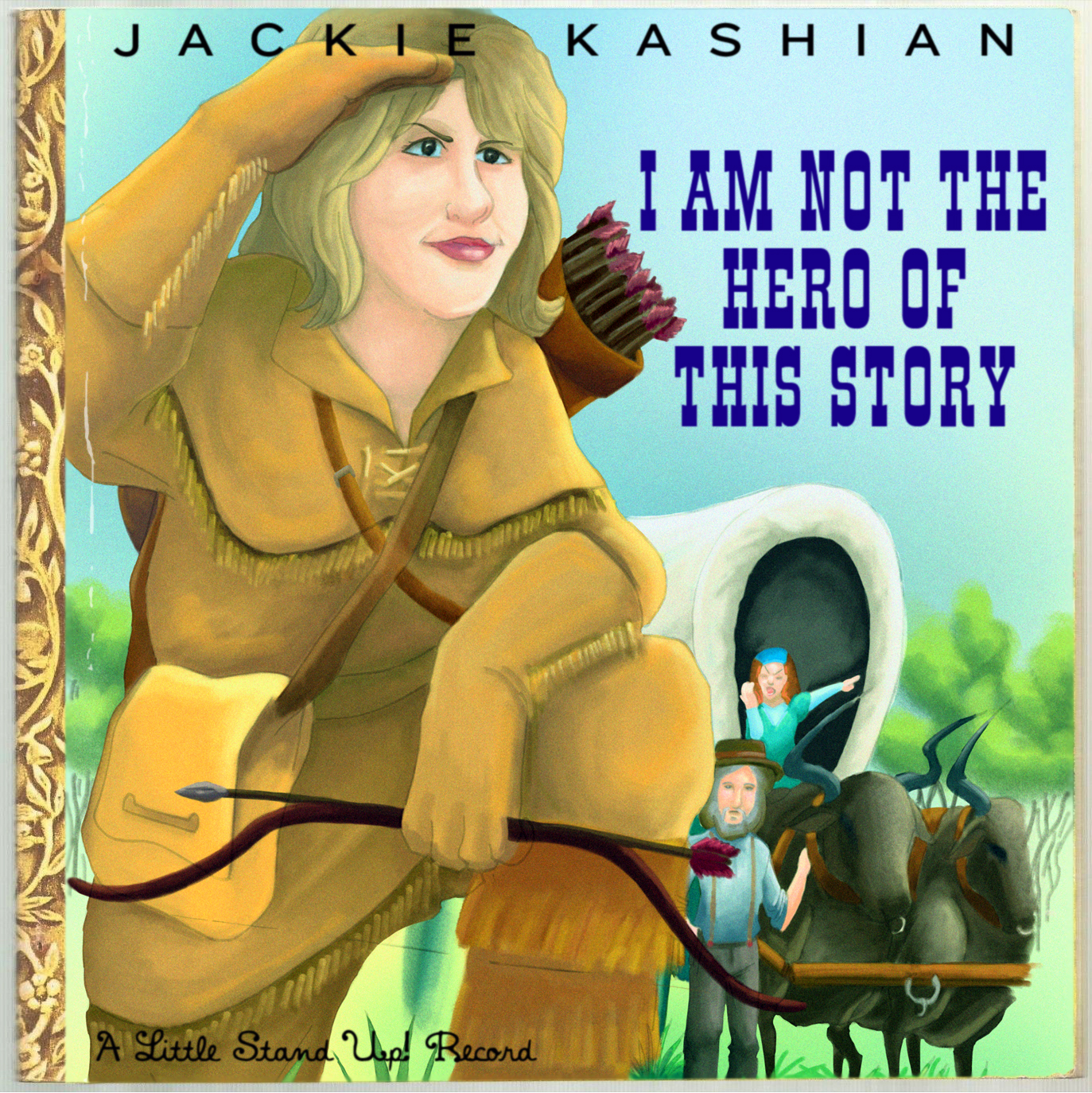 COMEDY NEWS:  NEW ALBUM FROM COMEDIAN AND (NOT YOUR) HERO JACKIE KASHIAN OUT TOMORROW MARCH 3