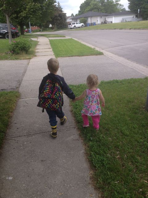 e and ab hand in hand