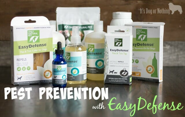 Fleas and ticks are a problem no matter where you live. Skip the chemicals and protect your dog from pests using the natural EasyDefense from Only Natural Pet.