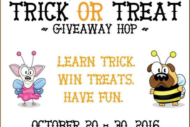 Trick or Treat Giveaway Blog Hop 2016 #TrickorTreatDogs   It's Dog or Nothing