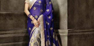 latest partywear saree collection