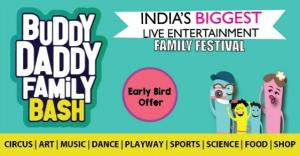 Buddy Daddy Family Bash – Biggest Live Family Entertainment