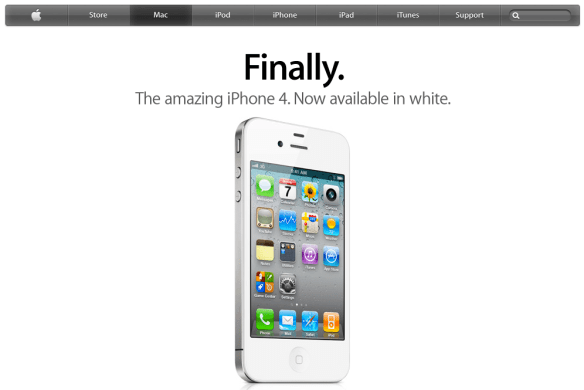 Finally. The White iPhone 4 is Here