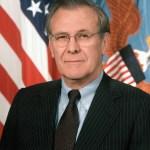 Secretary of Defense Donald Rumsfeld