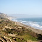 Pacific Coastline from Fort Funston