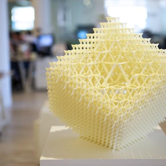 WeCross 3D printed artwork