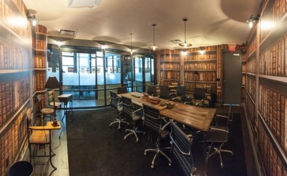 WeWork SoHo West Library Writing Room