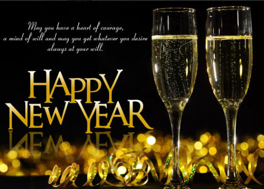 New-Year-2013-Wallpaper-with-wine-glass