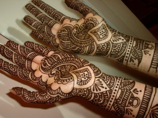 Bridal-Mehndi-design-for-wedding-ceremoney