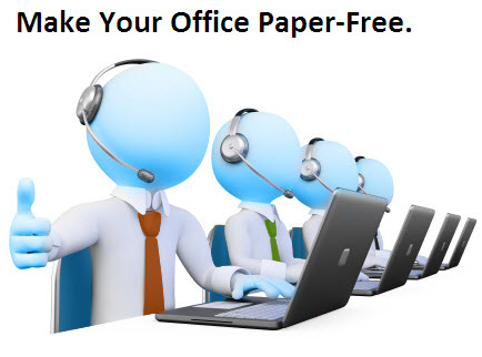 office automation system project pdf