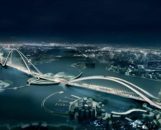 sheikh Rashid bin Saeed Crossing Project in Dubai