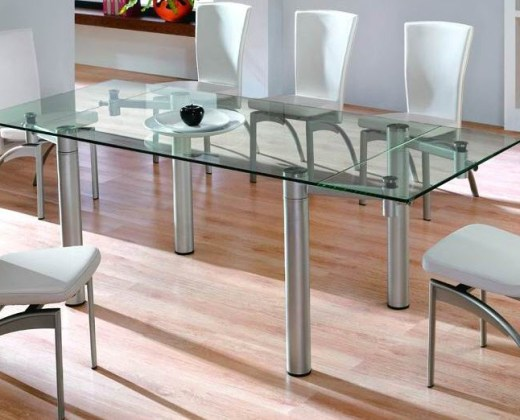 Latest Glass Dining Table Designs 2012