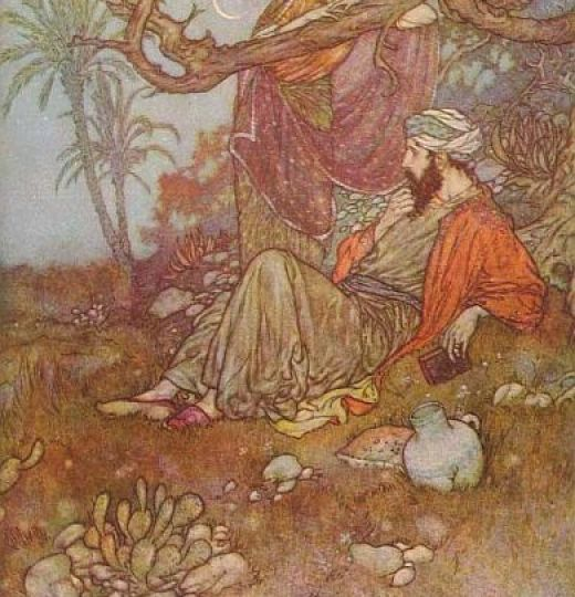 Omar-Khayyam-paintings