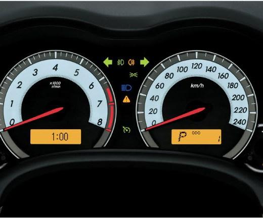 Latest-Toyota-Corolla-2013-Interior-speed-meter