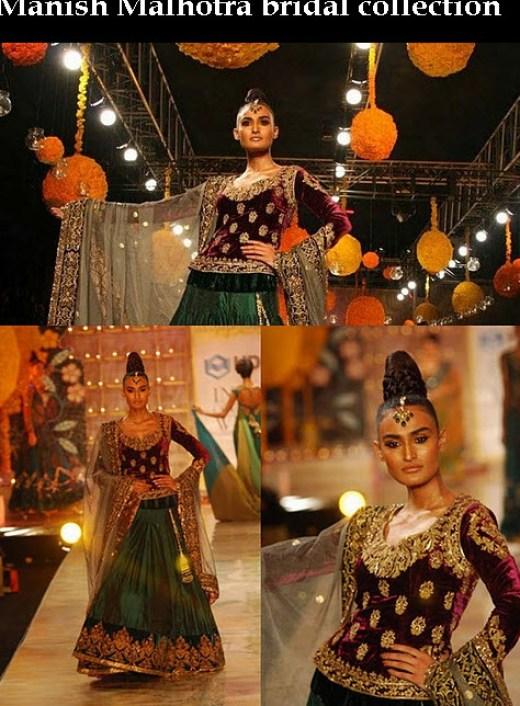 Indian Bridal Lehenga Fashion designer 2013