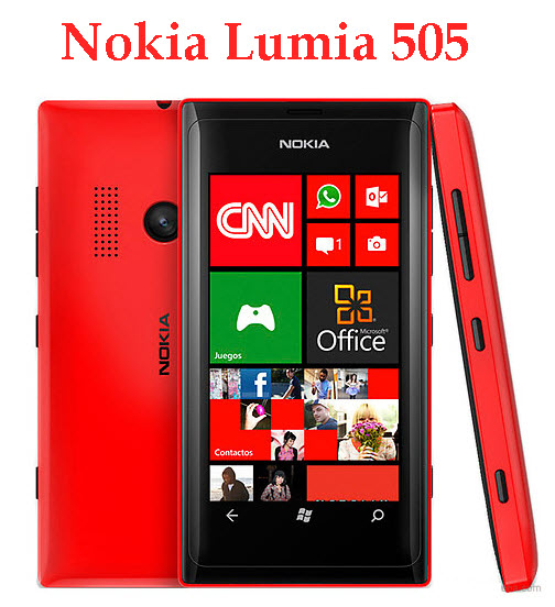 Latest-Nokia-Mobile-Model Nokia-Lumia 505
