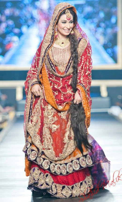 Most Expensive Bridal Dress of HSY 2013 Picture
