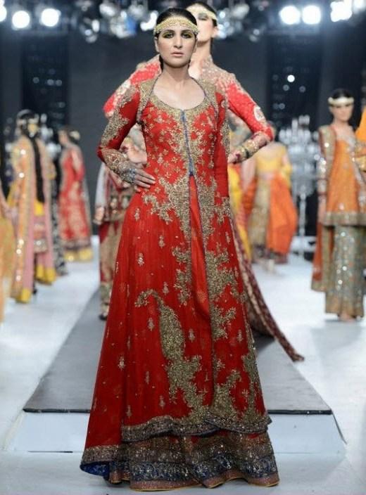 Pakistani-Bridal-dress-designer-2013 in Lahore Karachi