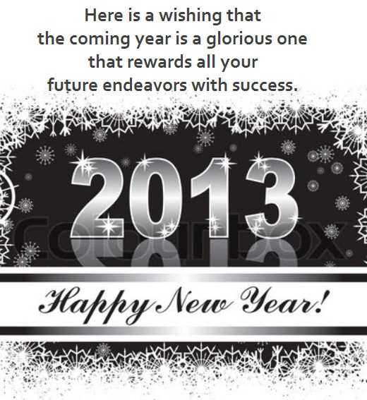 newyear2013-Greeting-card-Ecard-with-wishes message