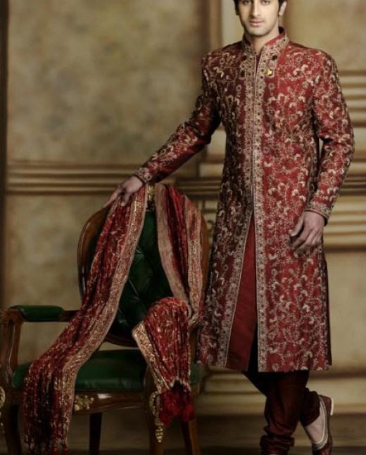 world-most-costly-groom sherwani design 2013