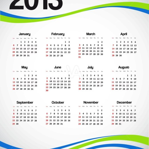 2013-Calendar-wallpaper for mobile