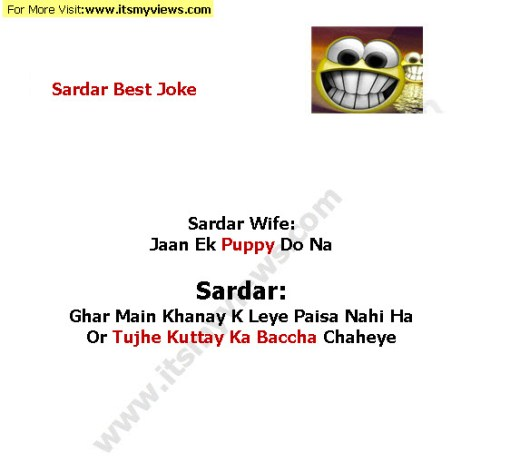 Indian-sardar Funny joke of the day