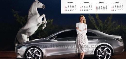 Most Beautiful design 2013-calendar wallpaper hot girl