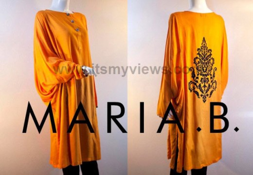 Maria-B-Latest-summer-spring-light-color-dress-with-price-2013-2014