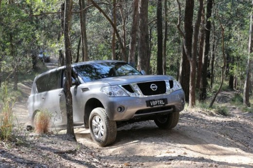 Nissan-Patrol-2013 test drive in Forest jungle
