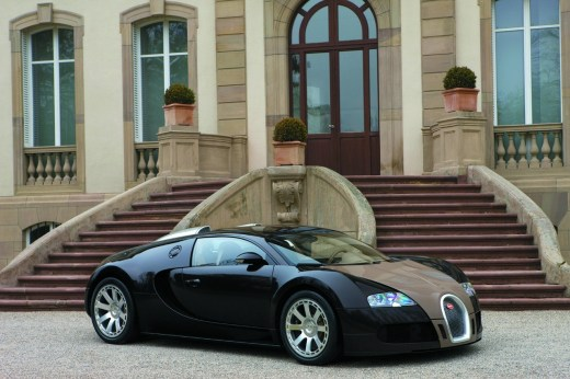 World-Most-expensive-car-bugatti-veyron picture with beautiful home