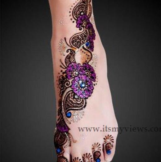 latest-brides-feet-mehndi-designs-2015 - 2016