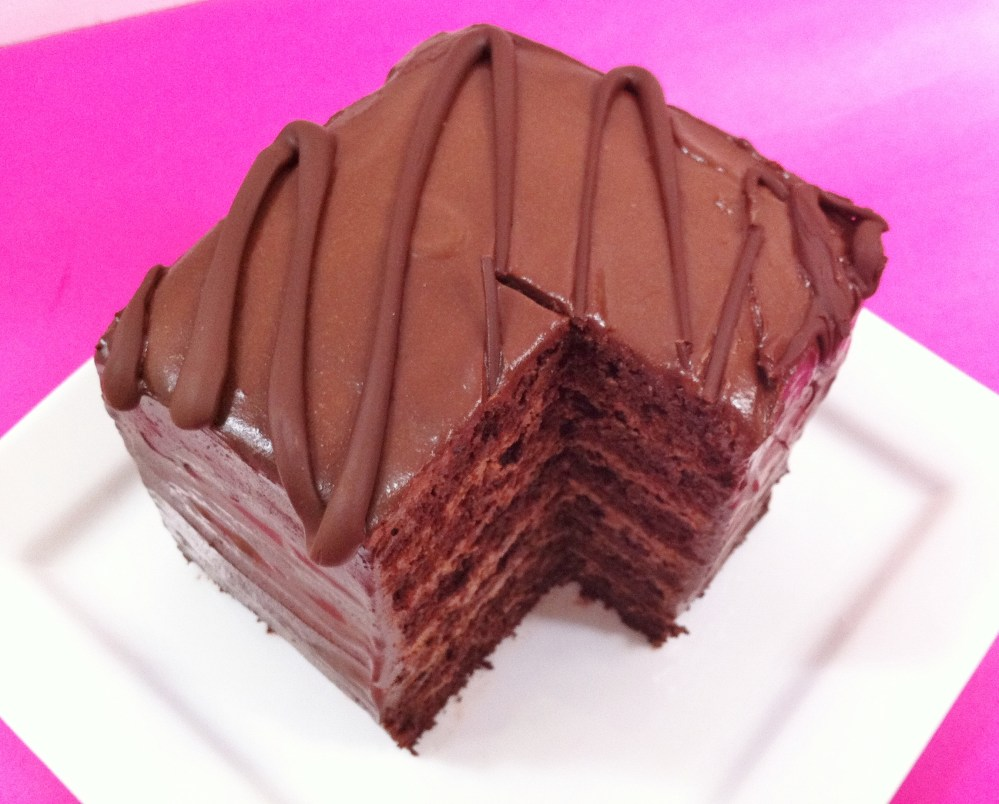 6 Layer Chocolate Cake  (3/5)