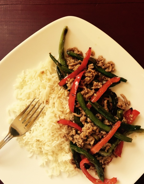 Spicy Turkey & Veggie Stir Fry