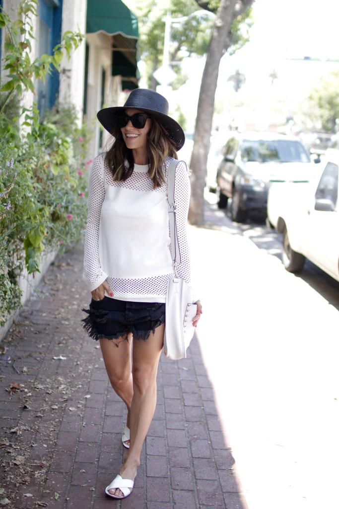 nordstrom anniversary sale white sweater, itsy bitsy indulgences