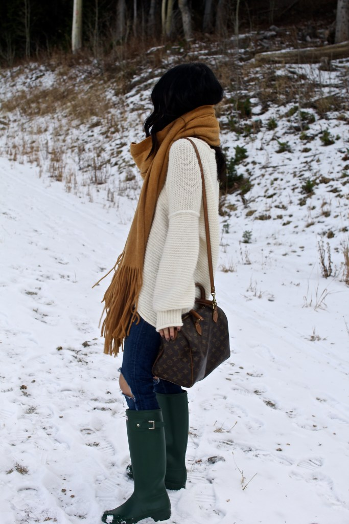 winter weather outfit, itsy bitsy indulgences