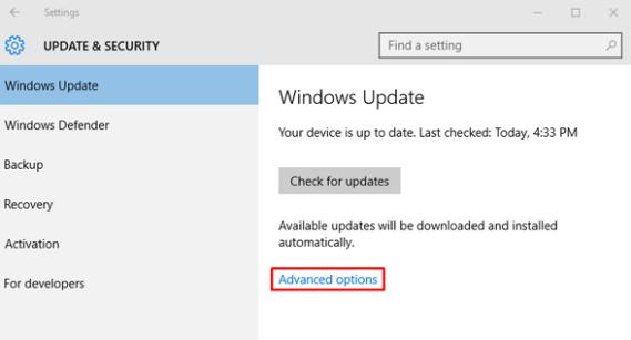 Windows Update - WUDO