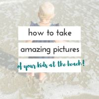 8 secrets for how to take good beach pictures of your kids