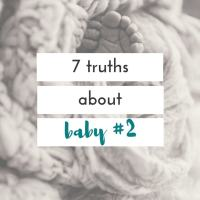 7 things I feared before baby #2