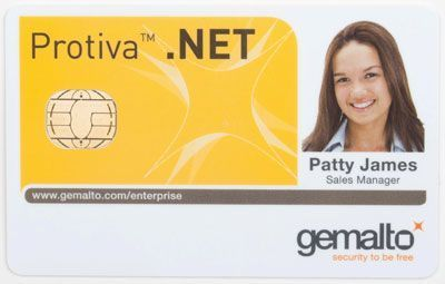 Protiva Card of Gemalto