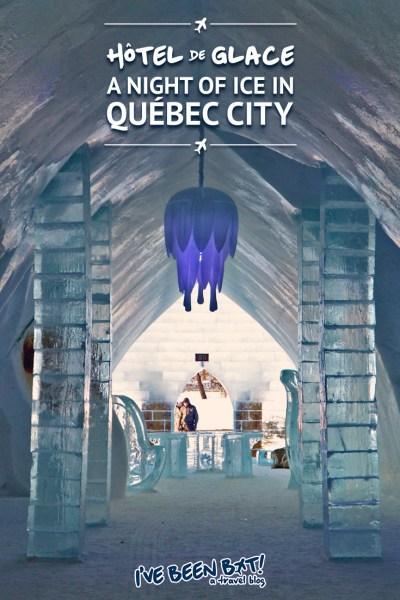 IveBeenBit.ca :: Hôtel de Glace - A Night of Ice in Québec City's Ice Hotel | Travel, Hotel, Accommodation, Winter, North America, Canada, Québec | #Travel #Hotel #Accommodation #Winter #NorthAmerica #Canada #Québec |