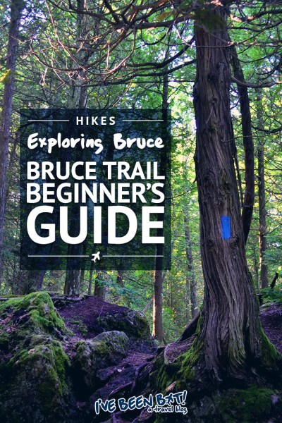 I've Been Bit! A Travel Blog :: Bruce Trail Beginner's Guide | Ontario, Canada, Hiking, Travel, Beginner's Guide, Niagara Escarpment, Tips, Hiking Trail, Explore the Bruce, Grey County, BruceGreySimcoe, Hamilton, Halton, Brant, City of Hamilton, Tobermory, Queenston, Niagara Region |