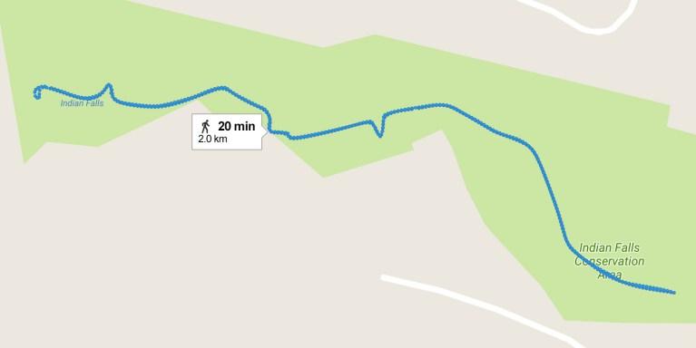 I've Been Bit! A Travel Blog :: 30 Walks 30 Days - Indian Falls, Owen Sound
