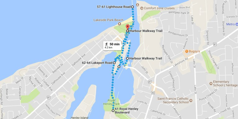 30 Walks 30 Days - Port Dalhousie, St Catharines, Ontario :: I've Been Bit! A Travel Blog