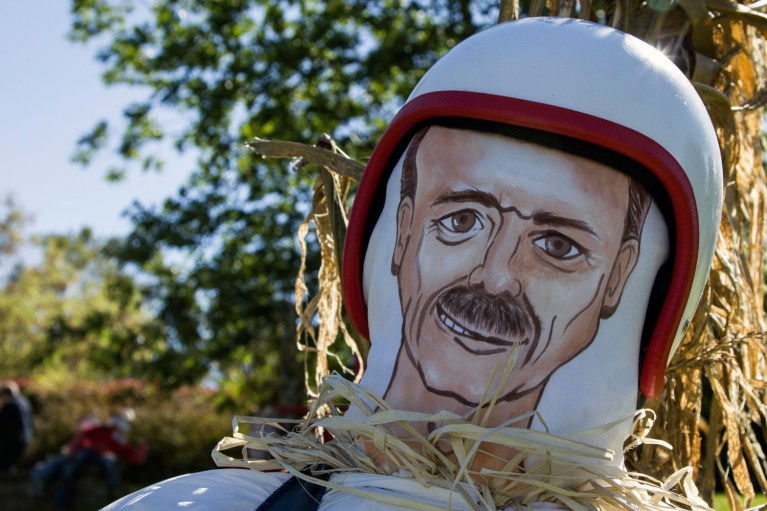 I've Been Bit! A Travel Blog :: Grey County Autumn Adventures - Meaford Scarecrow Invasion Colonel Chris Hadfield