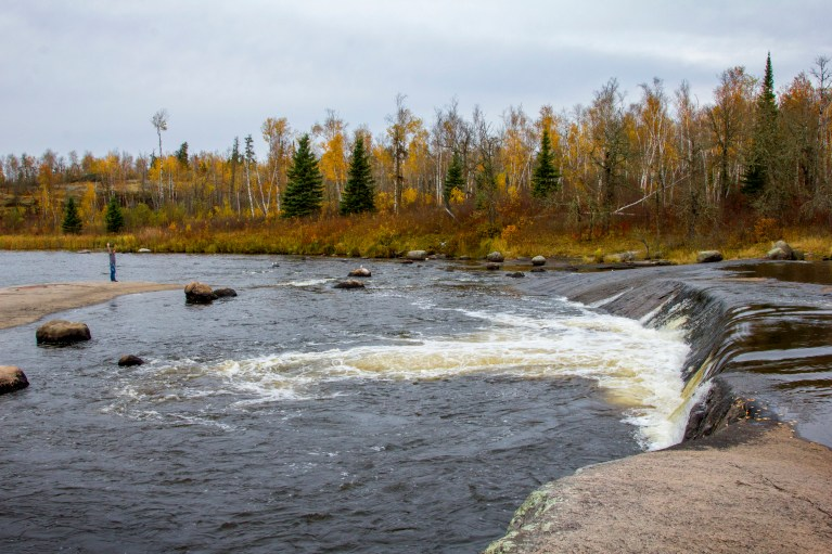 Rainbow Falls, Manitoba Road Trip - 7 Days of Canadian Prairie Adventure :: I've Been Bit A Travel Blog